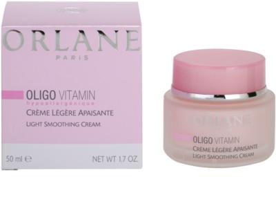 Orlane Oligo Vitamin Program leichte Creme für feinere Haut für empfindliche Haut 2