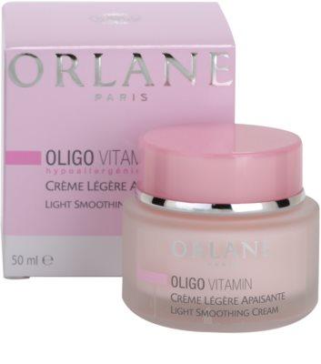 Orlane Oligo Vitamin Program leichte Creme für feinere Haut für empfindliche Haut 3