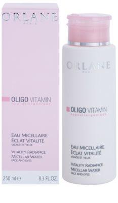 Orlane Oligo Vitamin Program água micelar de limpeza para rosto e olhos 1