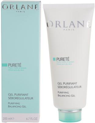 Orlane Purete Program vyrovnávací čistiaci gél pre normálnu až mastnú pleť 1