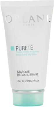 Orlane Purete Program kiegyenlítő maszk normál és zsíros bőrre