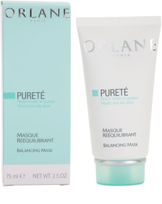 Orlane Purete Program вирівнююча маска для нормальної та жирної шкіри 1