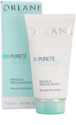 Orlane Purete Program harmonisierende Maske für normale bis fettige Haut 2