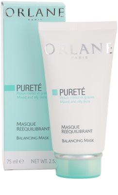 Orlane Purete Program masca de fata calmanta pentru piele normala si grasa 2