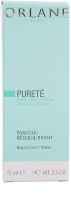 Orlane Purete Program harmonisierende Maske für normale bis fettige Haut 3
