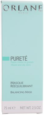 Orlane Purete Program masca de fata calmanta pentru piele normala si grasa 3