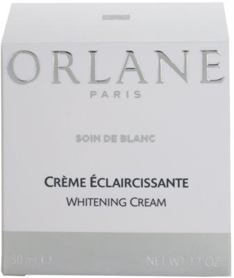 Orlane Whitening Program crema blanqueadora  contra problemas de pigmentación 4
