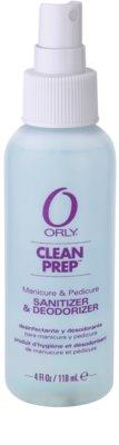 Orly Clean Prep spray pentru dezinfectarea mainilor, picioarelor si unghiilor 1