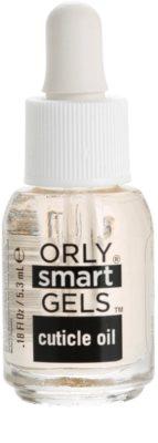 Orly smartGELS Cuticle Oil zaključna nega za obnohtno kožico za gel nohte