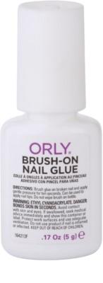 Orly Brush-On Nail Glue cola para a reparação rápida de unhas