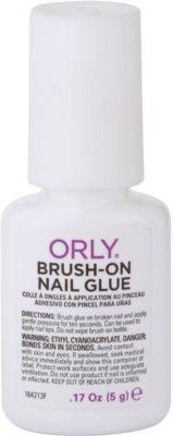 Orly Brush-On Nail Glue lepilo za hitro popravilo nohtov