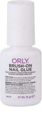 Orly Brush-On Nail Glue pegamento para una rápida reparación de uñas