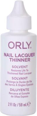 Orly Nail Lacquer Thinner dissolvente de verniz