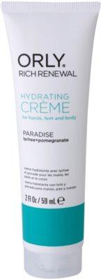 Orly Rich Renewal Paradise crema hidratanta pentru maini, picioare si corp