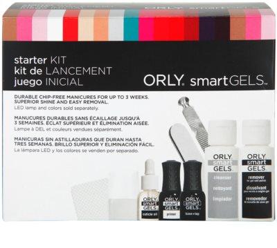 Orly smartGELS Starter Kit lote cosmético I.