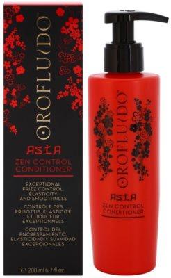 Orofluido Asia Zen glättender Conditioner für unnachgiebige und strapaziertes Haar 1