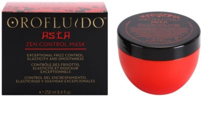 Orofluido Asia Zen mascarilla nutritiva para cabello encrespado y rebelde 2