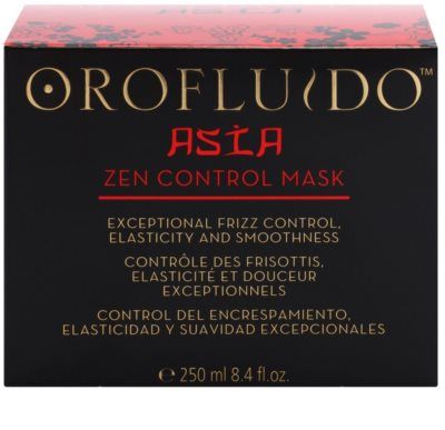 Orofluido Asia Zen mascarilla nutritiva para cabello encrespado y rebelde 3