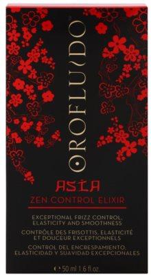 Orofluido Asia Zen незмивний еліксір для неслухняного та кучерявого волосся 2
