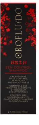 Orofluido Asia Zen sampon hranitor pentru par indisciplinat 2
