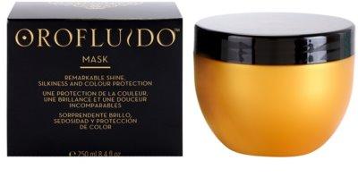 Orofluido Beauty máscara hidratante intensiva para cabelo natural ou pintado 1