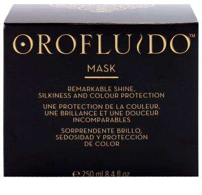 Orofluido Beauty máscara hidratante intensiva para cabelo natural ou pintado 3
