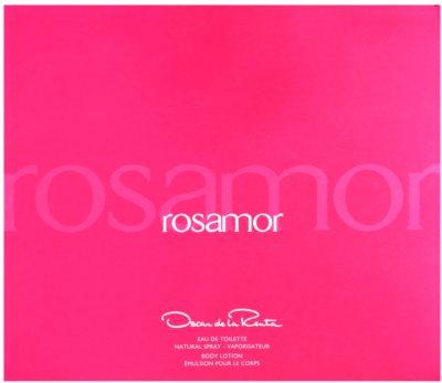 Oscar de la Renta Rosamor coffret presente 1