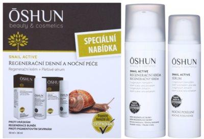 OSHUN Snail Active kozmetični set I.