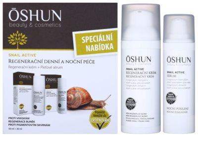 OSHUN Snail Active kozmetika szett I.