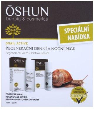 OSHUN Snail Active zestaw kosmetyków I. 3