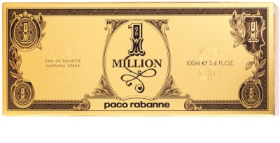 Paco Rabanne 1 Million Dollar eau de toilette para hombre 3
