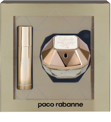 Paco Rabanne Lady Million lotes de regalo 2