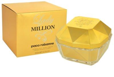 Paco Rabanne Lady Million tělový krém pro ženy