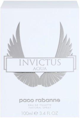 Paco Rabanne Invictus Aqua Eau de Toilette pentru barbati 3