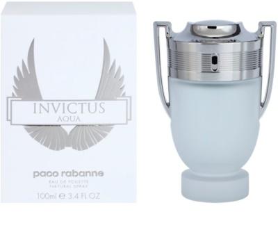 Paco Rabanne Invictus Aqua Eau de Toilette pentru barbati