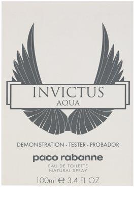 Paco Rabanne Invictus Aqua туалетна вода тестер для чоловіків 1
