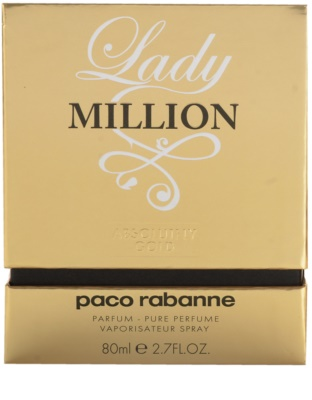 Paco Rabanne Lady Million Absolutely Gold perfume para mulheres 4