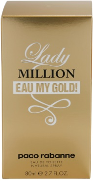 Paco Rabanne Lady Million Eau My Gold Eau de Toilette für Damen 4
