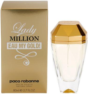 Paco Rabanne Lady Million Eau My Gold Eau de Toilette für Damen