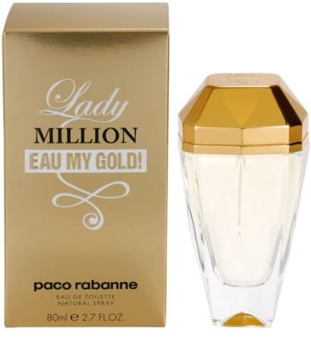 Paco Rabanne Lady Million Eau My Gold toaletní voda pro ženy
