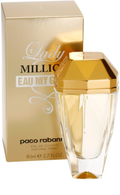 Paco Rabanne Lady Million Eau My Gold toaletní voda pro ženy 1