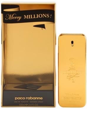 Paco Rabanne 1 Million Merry Millions Eau de Toilette pentru barbati