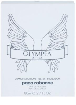 Paco Rabanne Olympea Aqua eau de toilette teszter nőknek 2