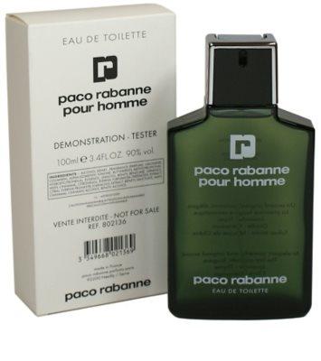 Paco Rabanne Pour Homme toaletní voda tester pro muže