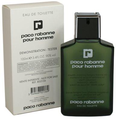 Paco Rabanne Pour Homme туалетна вода тестер для чоловіків