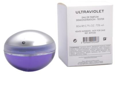 Paco Rabanne Ultraviolet parfémovaná voda tester pro ženy