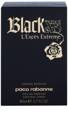Paco Rabanne Black XS L'Exces Extreme woda perfumowana dla kobiet 1
