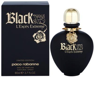 Paco Rabanne Black XS L'Exces Extreme Eau de Parfum für Damen