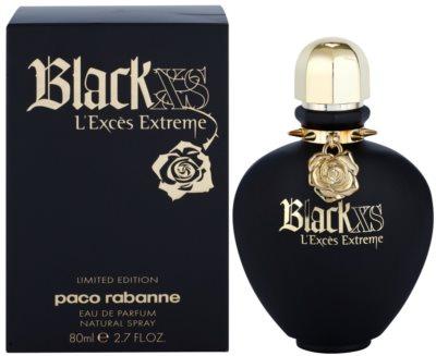 Paco Rabanne Black XS L'Exces Extreme Eau De Parfum pentru femei