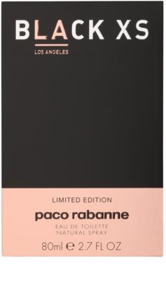 Paco Rabanne Black XS Los Angeles for Her Eau de Toilette pentru femei 4